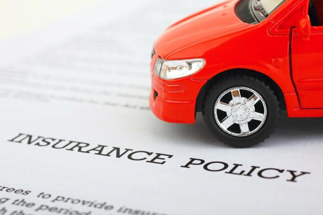 Toy car on insurance policy